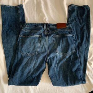 Madewell 27 rail Straight Jeans